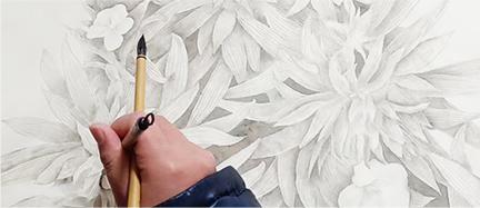 灵活创意手绘工艺