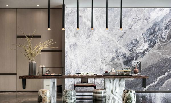 鼎隆玻璃夹丝材料在上海深坑酒店大放光彩